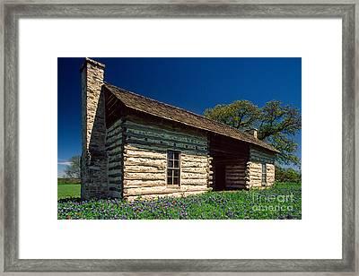 Texas Beginnings Framed Print by Inge Johnsson