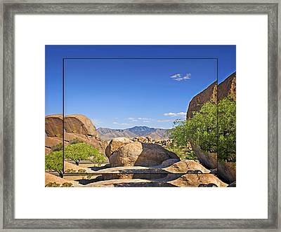 Texas Canyon 2 Framed Print