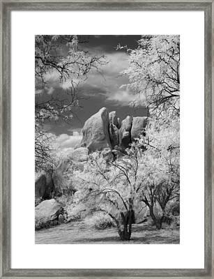 Texas Canyon  Framed Print