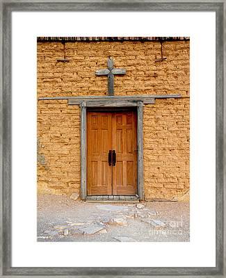 Texas Church Framed Print by Avis  Noelle