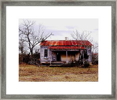 Texas Duplex Framed Print by James Granberry