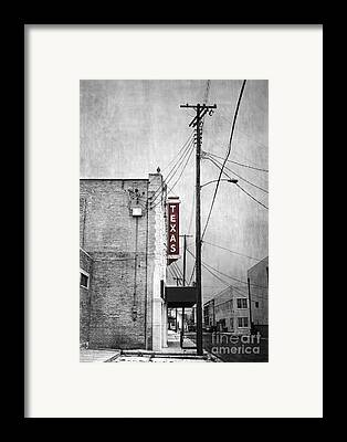 Texas Framed Prints