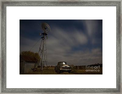 Texas Farm II Framed Print