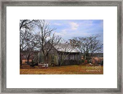 Texas Farm Framed Print by Stuart Mcdaniel