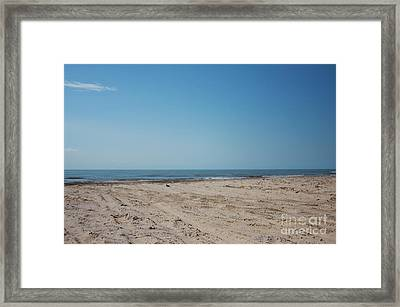 Texas Gulf Series Framed Print by Delaine Miller Sweat