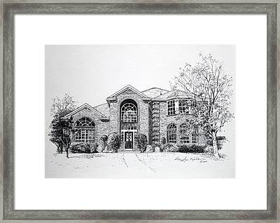 Texas Home 2 Framed Print by Hanne Lore Koehler