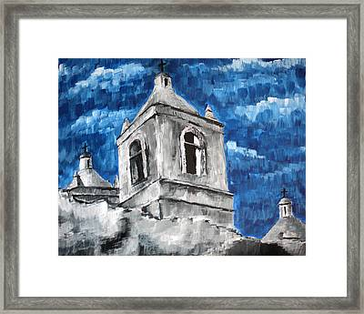 Texas Mission Framed Print