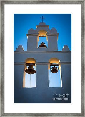 Texas Mission Framed Print by Inge Johnsson