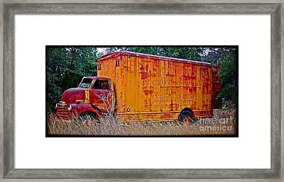 Texas Moving Co. - No.0651d Framed Print