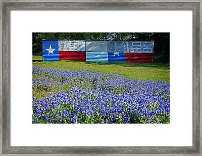 Texas Proud Framed Print