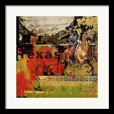 Www.texas.gov Framed Prints