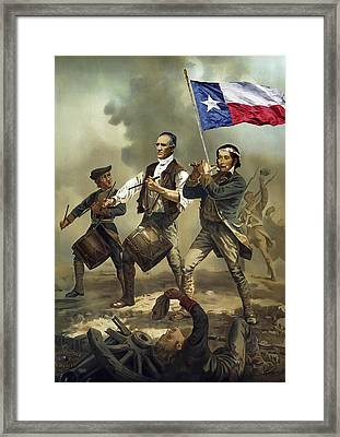 Texas Spirit Framed Print