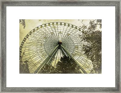 Texas Star Old Fashioned Fun Framed Print