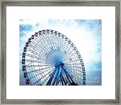 Texas Star Framed Print
