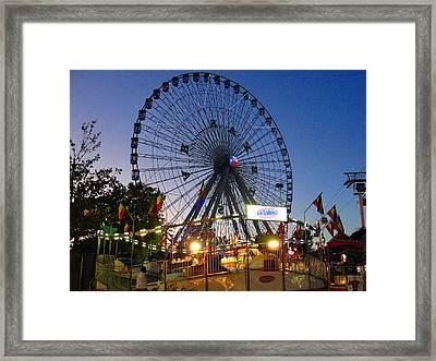 Texas State Fair Framed Print