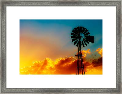 Texas Sunrise Framed Print by Darryl Dalton