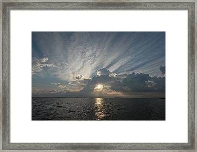 Texas Sunrise Framed Print