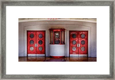 Texas Theater Framed Print