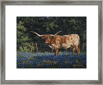 Texas Traditions Framed Print
