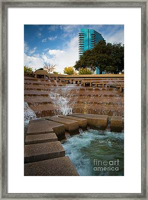 Texas Water Gardens Framed Print