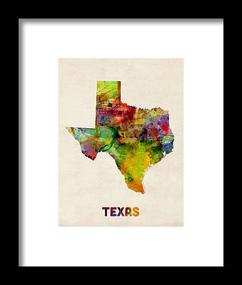 Austin Texas Framed Prints