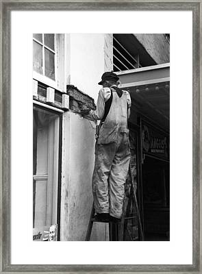 Texas Workman, 1939 Framed Print by Granger