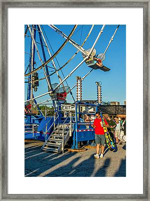 Text Softly...and Carry A Big Stick Framed Print by Steve Harrington