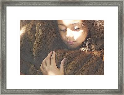 Framed Print featuring the photograph Texture by Jodie Marie Anne Richardson Traugott          aka jm-ART