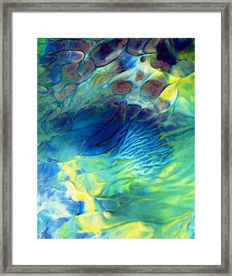 Textured Abstract 5 Framed Print