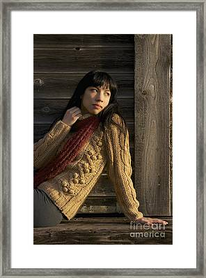 Textured Beauty Framed Print by Sean Griffin