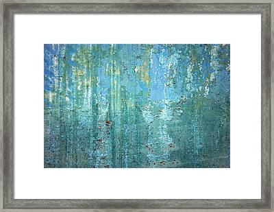 Textured Dream Framed Print by Kjirsten Collier