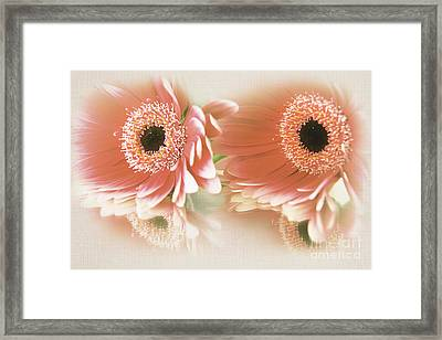 Textured Floral Artwork Framed Print
