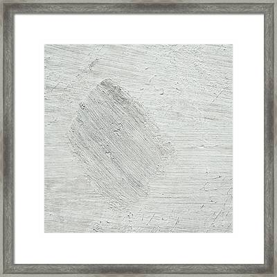 Textured Stone Background Framed Print by Tom Gowanlock