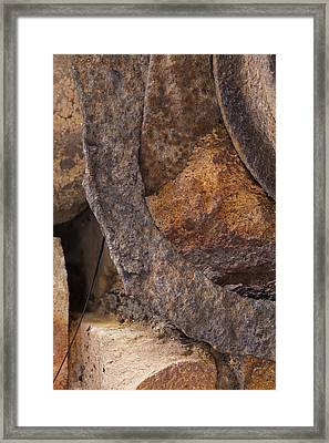 Textures 2 Framed Print by Fran Riley