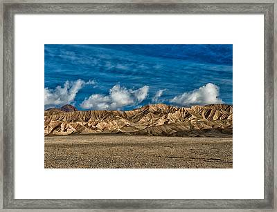 Textures Framed Print by Cat Connor