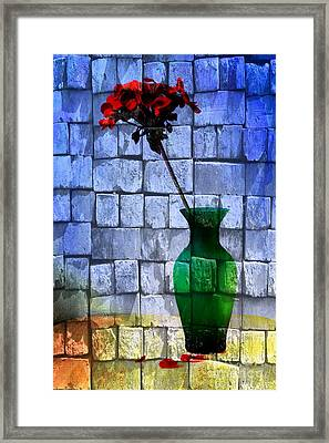 Textures Framed Print by Donald Davis