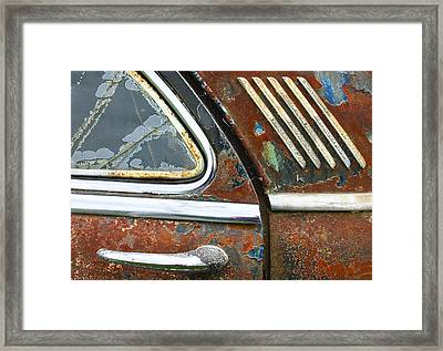 Textures Framed Print by Jean Noren
