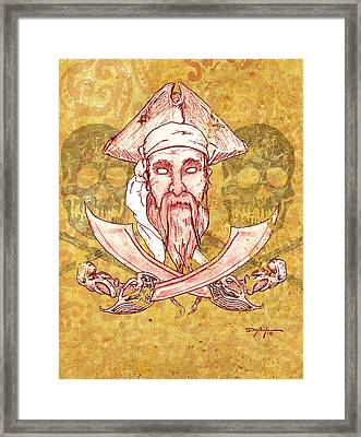 Teye Ba Pirate  Framed Print