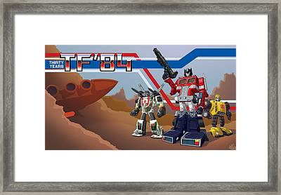 Tf'30 Toy Edition Framed Print by Otha Lohse