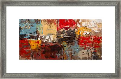 Tgif Framed Print by Carmen Guedez