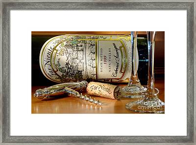Timing Is Everything Framed Print by Jon Neidert