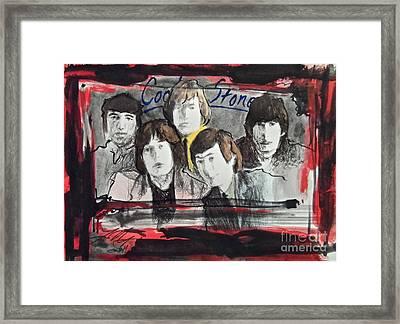 Tha Rollin' Stones Framed Print