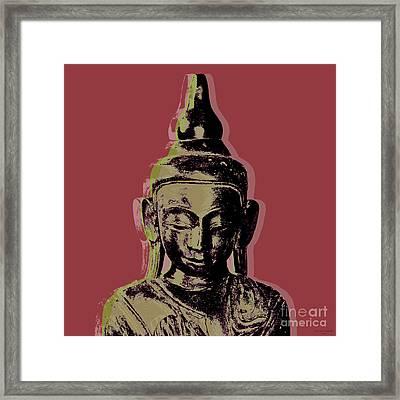 Thai Buddha #1 Framed Print by Jean luc Comperat