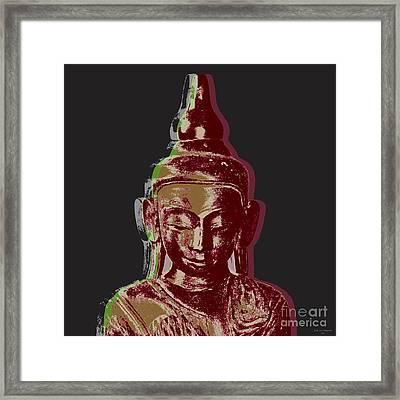 Thai Buddha #3 Framed Print by Jean luc Comperat