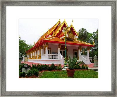 Thai Buddhist Temple II Framed Print