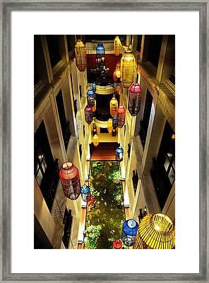 Thai Hotel Framed Print