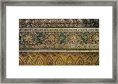 Thai Kings Grand Palace Framed Print