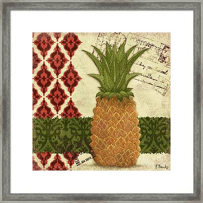 Thai Pineapple I Framed Print