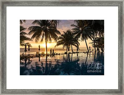 Thai Sunset Framed Print