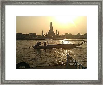 Thai Sunset Framed Print